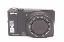 Nikon COOLPIX S9100 12.1MP Digital Camera - Black