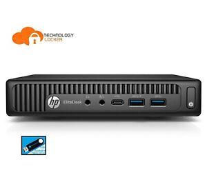 HP EliteDesk 800 G2 Desktop Mini i7-6700T Quad-Core 8GB RAM 1TB HDD Win 10 Pro