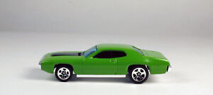 Hot Wheels '71 Plymouth GTX Green No Package