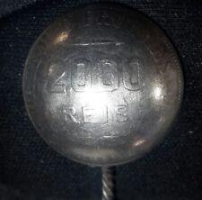 1906 Brazil 2000 Reis Silver .900 made into a Spoon