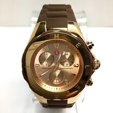 MICHELE TAHITIAN Chronograph Rose-Gold Electroplated & Steel Men's/Unisex Watch