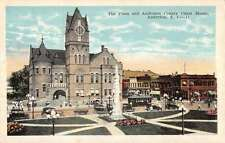 Anderson South Carolina Plaza Anderson Court House Antique Postcard K25597