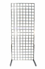 5 FT Grid Panel 1 Way Display Stand Chrome for Shops & Markets (e3j12/5)