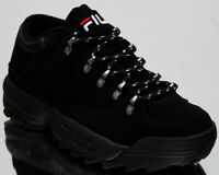 Fila Disruptor Hiker Low Men's Black Casual Lifestyle Shoes Sneakers 1010708-12V