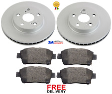 Pair Solid fits TOYOTA CELICA AT200 1.8 Rear 95 to 99 7A-FE Set 2x Brake Discs