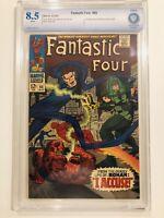 Fantastic Four #65 (1967) - 1st Ronan the Accuser!!! - CBCS 8.5 (Not CGC)- Key!!