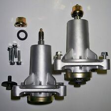 Spindle Assembly 2pk Grease Fittings Craftsman Husqvarna Lawn Mower Parts 187292