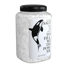 Natural sea salt with trace elements