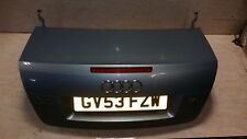 AUDI A4 2003 CONVERTIBLE TAILGATE BOOT LID - LY55