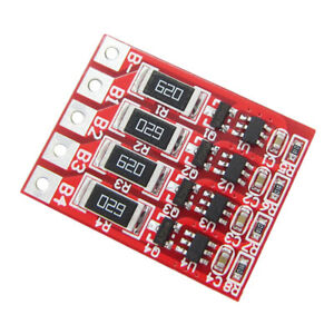 BMS 4S 12.8V 18650 LiFePO4 Lithium iron Battery Protection Board With balancer