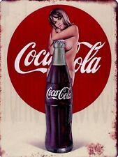 Coca Cola Bottle Pin-up 9