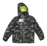 Next Boys Camouflage Green Padded Jacket Age 8