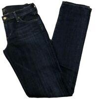 Citizens Of Humanity COH Jeans Women's Sz 28 Low Rise Straight Leg Dark AVA