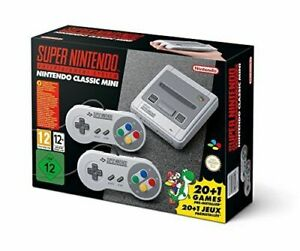 Nintendo Super Nintendo SNES Classic Mini Console (21 Games and 2 Controllers)