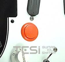 Tesi DITO Snap-in 24MM Guitar Arcade Button Kill Switch Solid Orange