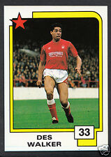 PANINI CALCIO CARD - 1988 SUPERSTARS CALCIO-N. 33-des Walker