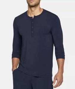 Mens XL UNDER ARMOUR UA Athlete Recovery 3/4 Henley Sleep Shirt Tom Brady $99