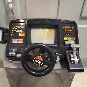 Playmates Fun To Learn To Drive Dashboard Vtg 80s Toy Simulator READ WATCH VIDEO