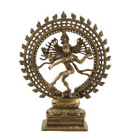 Statua Di Shiva Nataraja Danza Nataraja 5kg800 H 43cm India 1197