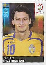 N°406 VIGNETTE PANINI IBRAHIMOVIC SWEDEN SVERIGE EURO 2008 STICKER