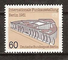 WEST BERLIN # 9N466 MNH TELECOMMUNICATIONS EXHIBIT