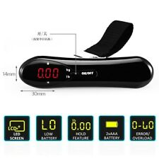 Electronic Portable Digital Luggage Scale Travel 50 KG Measures Weight Weighing