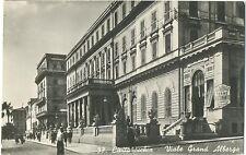 CIVITAVECCHIA - VIALE GRAND ALBERGO (ROMA) 1949