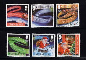 Gibraltar #822-27 (1999 Christmas set) VFMNH CV $5.75