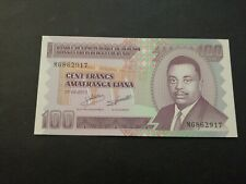 Burundi 100 Francs 2011 UNC