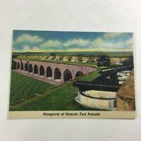 VINTAGE 1930s Mini Photographs Souvenir Pictures Savannah GA Fort Pulaski