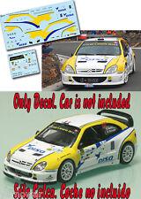 Decal 1:43 Didier Auriol - CITROEN XSARA WRC - Winner Rally Islas Canarias 2014