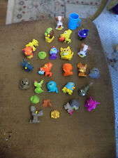 Lot Moose The Trash Pack Trashies Mini Rubber Figures Dogs Snail Lion Birds Fish