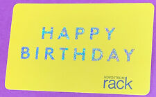 "💛🤍Nordstrom Rack🤍💛Gift Card💛🤍 ✨sparkles✨""HAPPY BIRTHDAY""🎂🎁🛍🎈🎊💋❣️❣️❣️"
