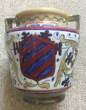 More details for  societa ceramica umbra (scu) vintage italian faience lustre vase