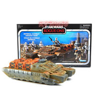 (In-Hand) Hasbro Star Wars Vintage ROGUE ONE Imperial Combat Assault Hover Tank
