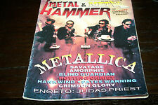 METAL HAMMER MAGAZINE 6/1996 METALLICA ROTTING CHRIST JUDAS PRIEST