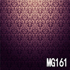 Retro Damask Vinyl Photography Backdrop Background Studio Props 10x10ft MG161