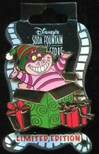 DSF Christmas 2012 Gift Box Cheshire Cat LE 300 Disney Pin 93086
