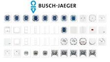 Busch-Jäger Reflex SI & Linear alpinweiß Schalter/Steckdose/Rahmen -frei wählbar