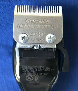 WAHL Precision Premium Smooth Dog Cut Clippers Pet Grooming PCMC-3 USA Made