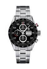Carrera TAG Heuer Armbanduhren aus Edelstahl