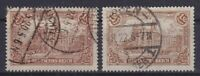 Dr Mi No. 114 B,114 C, Tested Infla, Postmarked, Representation Empire 1920
