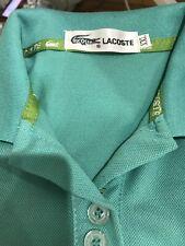 Lacoste Polo Green M Womens Super Cute