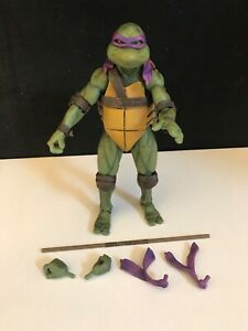 NECA TMNT Ninja Turtles Movie Loose: Donatello with Accessories