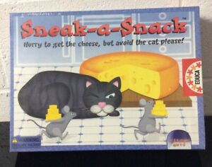 New Sealed Vintage Sneak A Snack Cat Board Game Spain EDUCA RARE *SEE PICS*