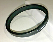 Regent 52mm -to- 49mm step down filter adapter ring