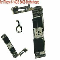 1pcs for iPhone 6 16GB 64GB Unlocked with Touch ID Parts Logic Board Motherboard