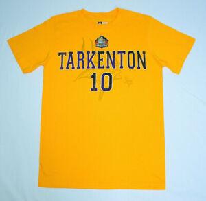 Fran Tarkenton Minnesota Vikings NFL Hall of Fame #10 Team Apparel Shirt Mens M