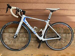 Giant TCR Advanced 0 (LTD) - White/Blue