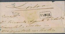 PORTUGAL - 1869 cover 25 rs, D. LUÍS I (Fita curva, denteados) 100-TABOA>LISBOA